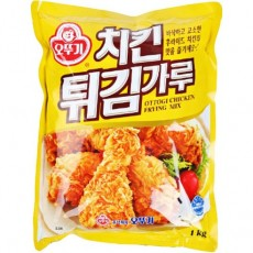 8220 오뚜기 치킨 튀김가루 1kg (한박스 10개입)
