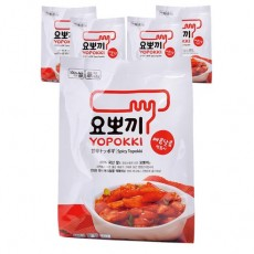 5023-1[요뽀끼]매콤달콤 떡볶이 파우치 140g(1인분)