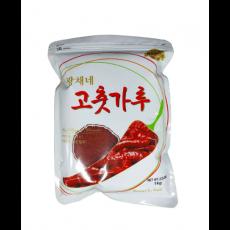 4596  광채 태양초 고춧가루 1kg(김치용/굵은 고춧가루)