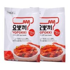 5025-1[요뽀끼]매콤달콤 떡볶이 파우치 250g(2인분) 1+1