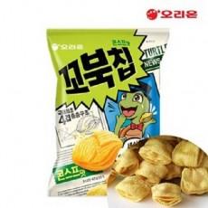 3405 오리온 꼬북칩 콘스프맛 65g (한박스 20개입)