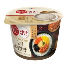 5124 CJ 햇반컵반 김치날치알밥 188g (3월 1일부터 주문 가능합니다)