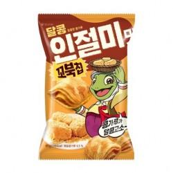 3406 오리온 꼬북칩 달콩인절미맛 65g