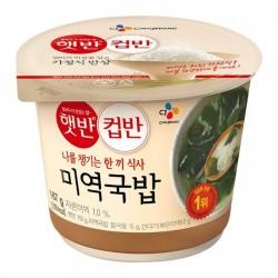 5130 햇반 컵반 미역국밥 167g