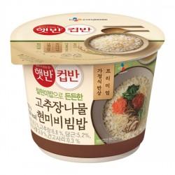 5131 햇반 컵반 고추장나물 현미비빔밥 229g