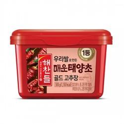 4113 해찬들 우리쌀로 만든 매운 태양초골드 고추장 500g (2월3일 부터 배송 가능)