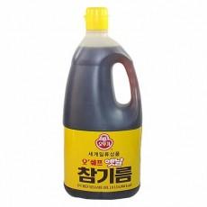 4722 오뚜기 오쉐프 옛날참기름 1.8L (업소용)