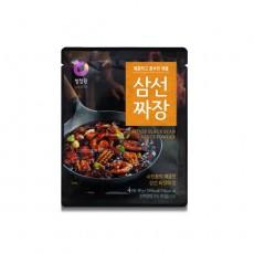 8504 청정원 삼선짜장(분말) 80g(4인분)