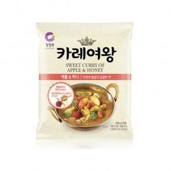 8507 청정원 카레여왕 애플&허니 108g 분말(4인분)