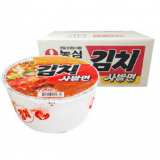 2211-1 농심 김치사발면 한박스(24개입)