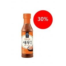 4634-1 대상 청정원 저온숙성 새우액젓 500g (김치할 때 넣어 보세요!)
