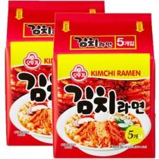 2133 오뚜기 김치라면 멀티(120g*5개입) 1+1 특가판매